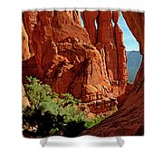 Cathedral Rock 06-124 Shower Curtain