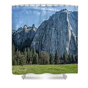 Cathedral Rock And Spires Shower Curtain