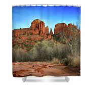 Cathedral Rock In Sedona Shower Curtain
