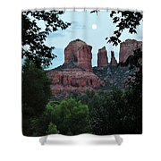 Cathedral Rock Rrc 081913 Aa Shower Curtain