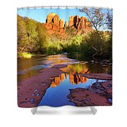 Cathedral Rock Sedona Shower Curtain by Matt Suess
