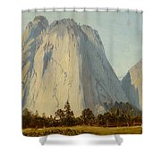 Cathedral Rocks  - Yosemite Valley Shower Curtain