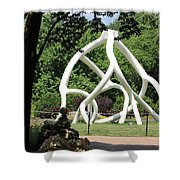 Cathedral Root Shower Curtain