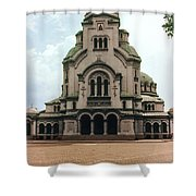 Cathedral Saint Alexandar Nevski Shower Curtain