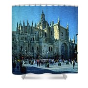 Cathedral, Spain Shower Curtain