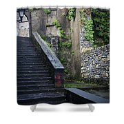 Cathedral Stairs Shower Curtain