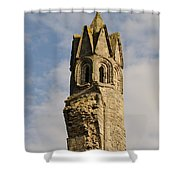 Cathedral Tower Shower Curtain