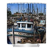 Catherina G Shower Curtain