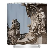 Catherine And Agnes Shower Curtain