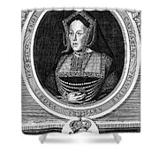 Catherine Of Aragon, First Wife Shower Curtain