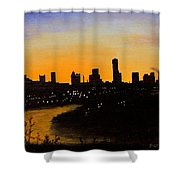 Catherine's Sunrise Shower Curtain by Jack Skinner