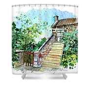 Catholic Church In Osmotherley 01 Shower Curtain