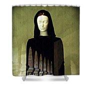 Catholic Imagination Fashion Show 3    Shower Curtain