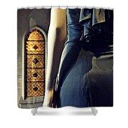 Catholic Imagination Fashion Show 5    Shower Curtain