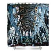 Catolic Church Shower Curtain