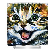 Cats Eyes 15 Shower Curtain