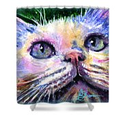 Cats Eyes 2 Shower Curtain