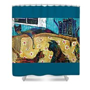 Cats Hangin' Out  Shower Curtain