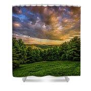 Catskill Sunset Shower Curtain