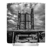 Cattle Chute Shower Curtain