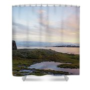 Cattle Point Memorial Shower Curtain