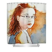 Catts Shower Curtain