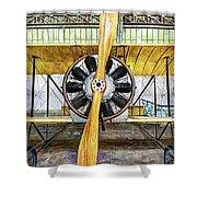 Caudron G3 Propeller - Vintage Shower Curtain