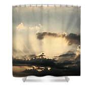 Caught At Sunrise Shower Curtain