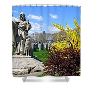 Cavalry Afternoon Shower Curtain