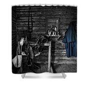 Cavalry Bunkhouse Shower Curtain