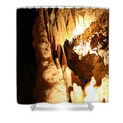 Cave 10 Shower Curtain