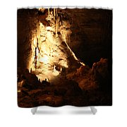 Cave 12 Shower Curtain