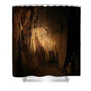 Cave 15 Shower Curtain