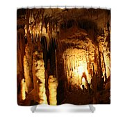 Cave 8 Shower Curtain