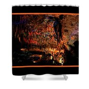 Cave Colors Shower Curtain