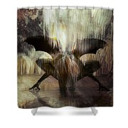 Cave Dweller Shower Curtain