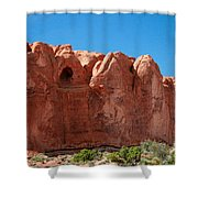 Cave Formation Arches National Park Shower Curtain
