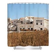 Cave Hotel Shower Curtain