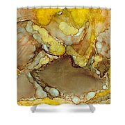 Cave Jewels Shower Curtain