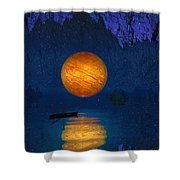 Cave Of Secrets Shower Curtain