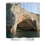 Cave On The Water Shower Curtain