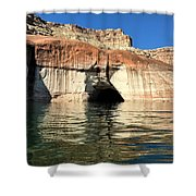 Cave Opening At Lake Powell Shower Curtain