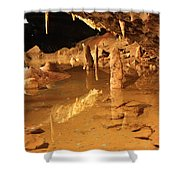 Cave Reflections Shower Curtain