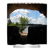 Cave With A View. Shower Curtain