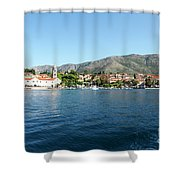 Cavtat, Croatia Shower Curtain