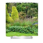 Cawdor Castle Garden Shower Curtain