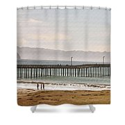 Caycous Pier II Shower Curtain
