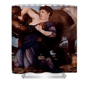 Cayh8fyv Arnold Bcklin Shower Curtain
