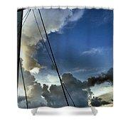 Cayman Nite Sky Shower Curtain