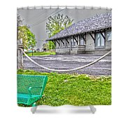 Cayuga Offices Shower Curtain